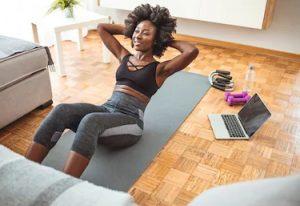 hochwertigen Fitnessprogramm
